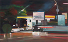 »Taxistand«   2018   65 × 105 cm